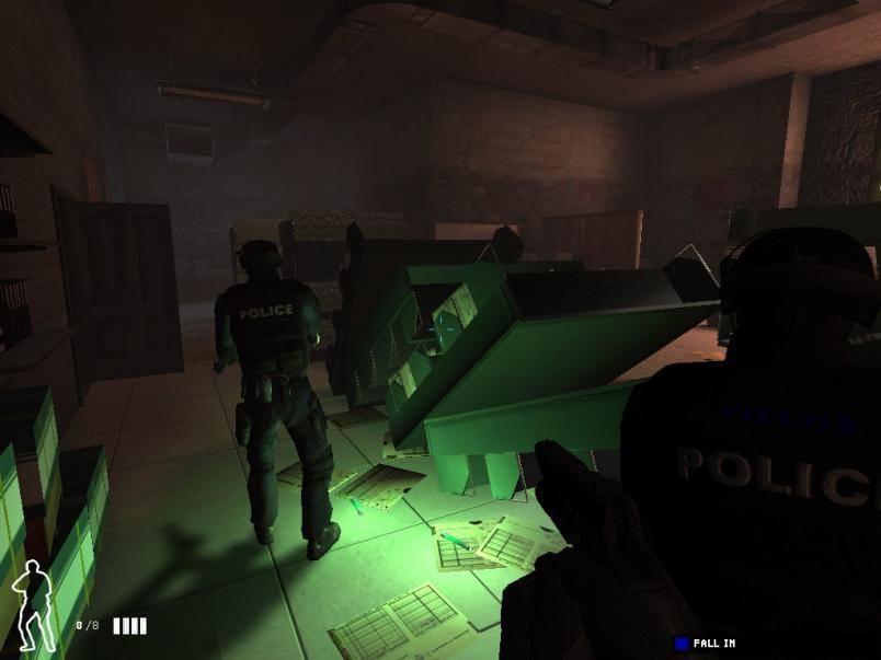 Сценаристы серьезно подступили к сюжету, потому SWAT 4: Синдикат Стеч