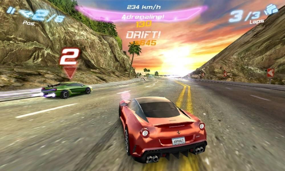 asphalt 6 скачать бесплатно от gameloft для андроида