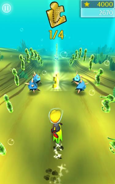 Скачать взломанную версию игры Ocean Run 3D (обновлено v 1.0.0.1574) Мод (б