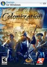 Sid Meier's Civilization IV Colonization dvd cover