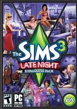The Sims 3 Late Night dvd cover
