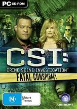 CSI: Fatal Conspiracy Cover