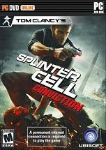 Tom Clancy's Splinter Cell Conviction dvd cover