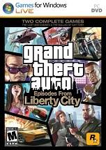 Grand Theft Auto IV: Episodes From Liberty City dvd cover