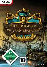Age of Pirates 2: City of Abandoned Ships dvd cover