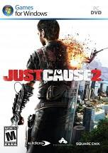 Just Cause 2  dvd cover