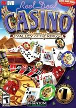 Reel Deal Casino: Valley of the Kings dvd cover