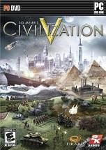 Sid Meier's Civilization V dvd cover