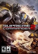 Supreme Commander 2 dvd cover
