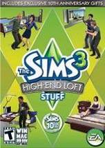 The Sims 3 High End Loft Stuff dvd cover