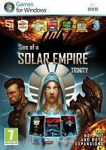 Sins of a Solar Empire: Trinity dvd cover