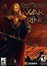 The Lord of the Rings: War of the Ring dvd cover