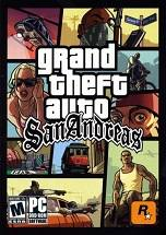 Grand Theft Auto: San Andreas dvd cover