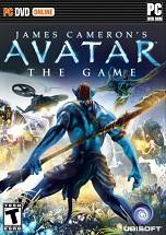 Avatar: The Game dvd cover