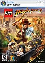 Lego Indiana Jones 2 dvd cover