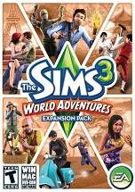 The Sims 3: World Adventures dvd cover