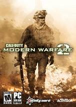 Call of Duty: Modern Warfare 2 dvd cover