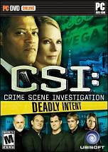 CSI: Deadly Intent dvd cover