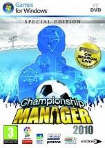 Championship Manager 2010 dvd cover