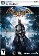 Batman: Arkham Asylum dvd cover