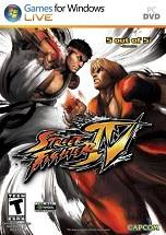 Street Fighter IV dvd cover