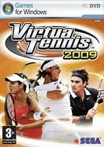 Virtua Tennis 2009 dvd cover