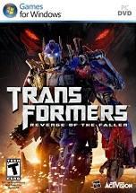 Transformers: Revenge of the Fallen dvd cover