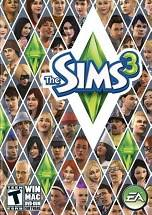 The Sims 3 dvd cover