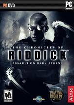 The Chronicles of Riddick: Assault on Dark Athena  dvd cover