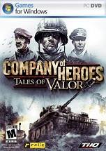 Company of Heroes: Tales of Valor dvd cover