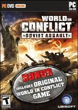 World in Conflict: Soviet Assault dvd cover