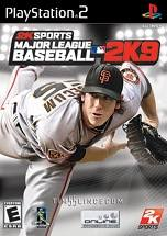 Major League Baseball 2K9 dvd cover