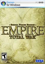 Empire: Total War (Special Forces Edition) dvd cover