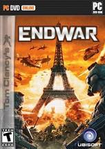Tom Clancy's EndWar dvd cover