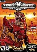 Space Rangers 2: Rise of the Dominators dvd cover