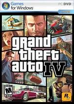Grand Theft Auto IV GTA 4 dvd cover