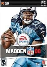 Madden NFL 08 dvd cover