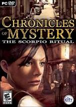 Chronicles of Mystery: The Scorpio Ritual Cover