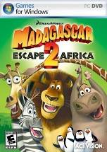 Madagascar: Escape 2 Africa dvd cover