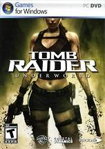 Tomb Raider: Underworld dvd cover