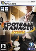 Football Manager 2009 dvd cover
