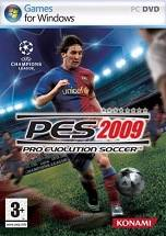 Pro Evolution Soccer 2009 dvd cover