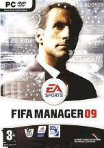 FIFA Manager 09 dvd cover