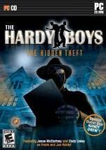 The Hardy Boys: The Hidden Theft dvd cover