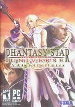 Phantasy Star Universe: Ambition of the Illuminus dvd cover