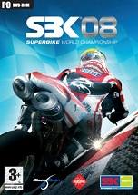SBK-08 Superbike World Championship dvd cover