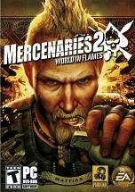 Mercenaries 2: World in Flames dvd cover