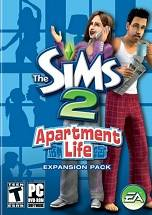 The Sims 2 Apartment Life dvd cover