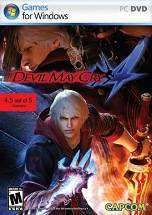 Devil May Cry 4 dvd cover