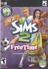 The Sims 2: FreeTime dvd cover